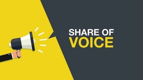 share of voice - 3