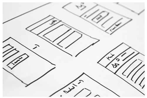 A Website Wireframe - 1