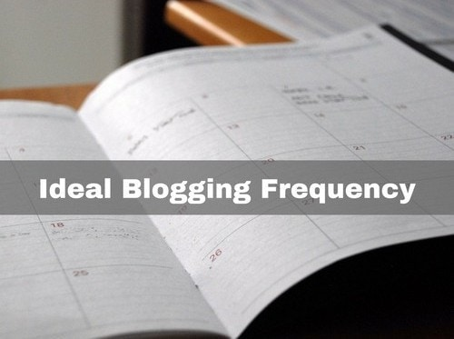 Best Blogging Frequency - 1