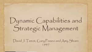 What are Dynamic Capabilities and their role in Strategy?