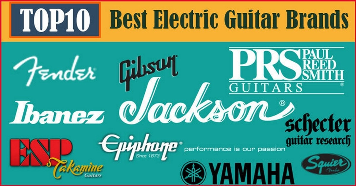 Top Guitar brands in the world