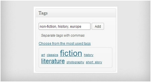 Categories Vs Tags - 8