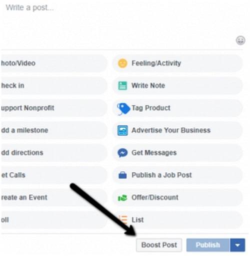 Facebook Boost Post - 1