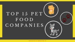 Top 15 Pet Food Brands
