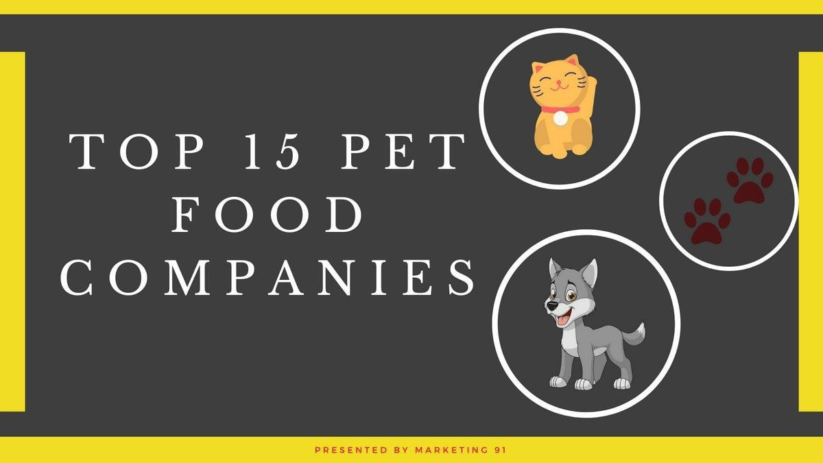 Top 15 Pet Food Brands