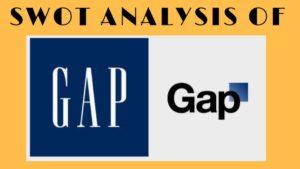 SWOT Analysis of GAP