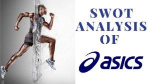 SWOT analysis of ASICS