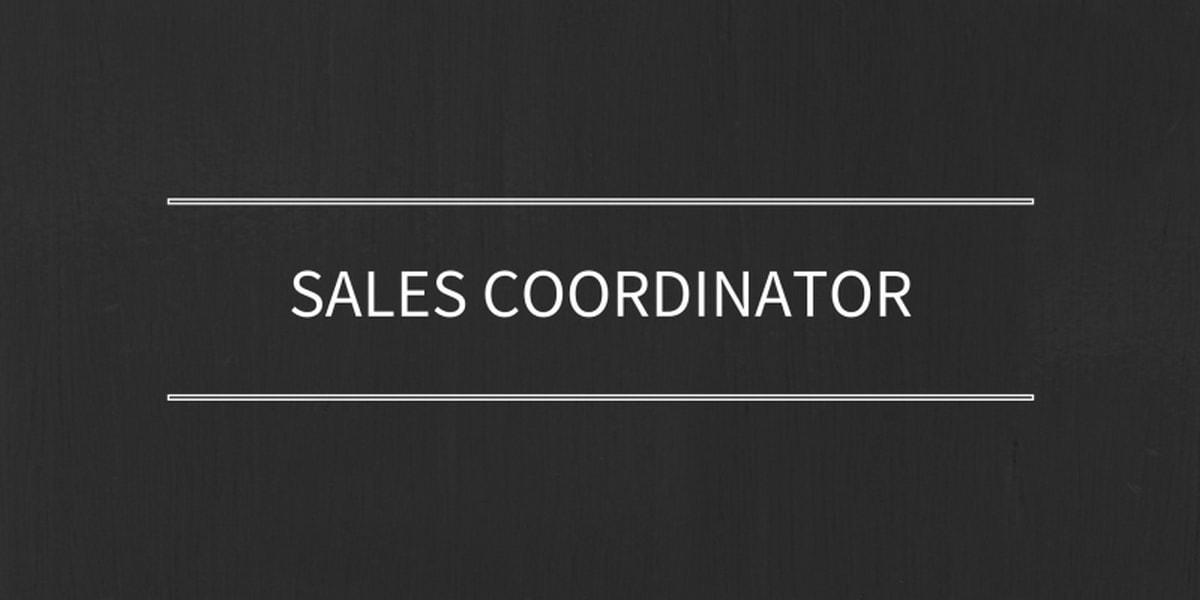 Sales coordinator - 1