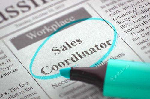 Sales coordinator - 2