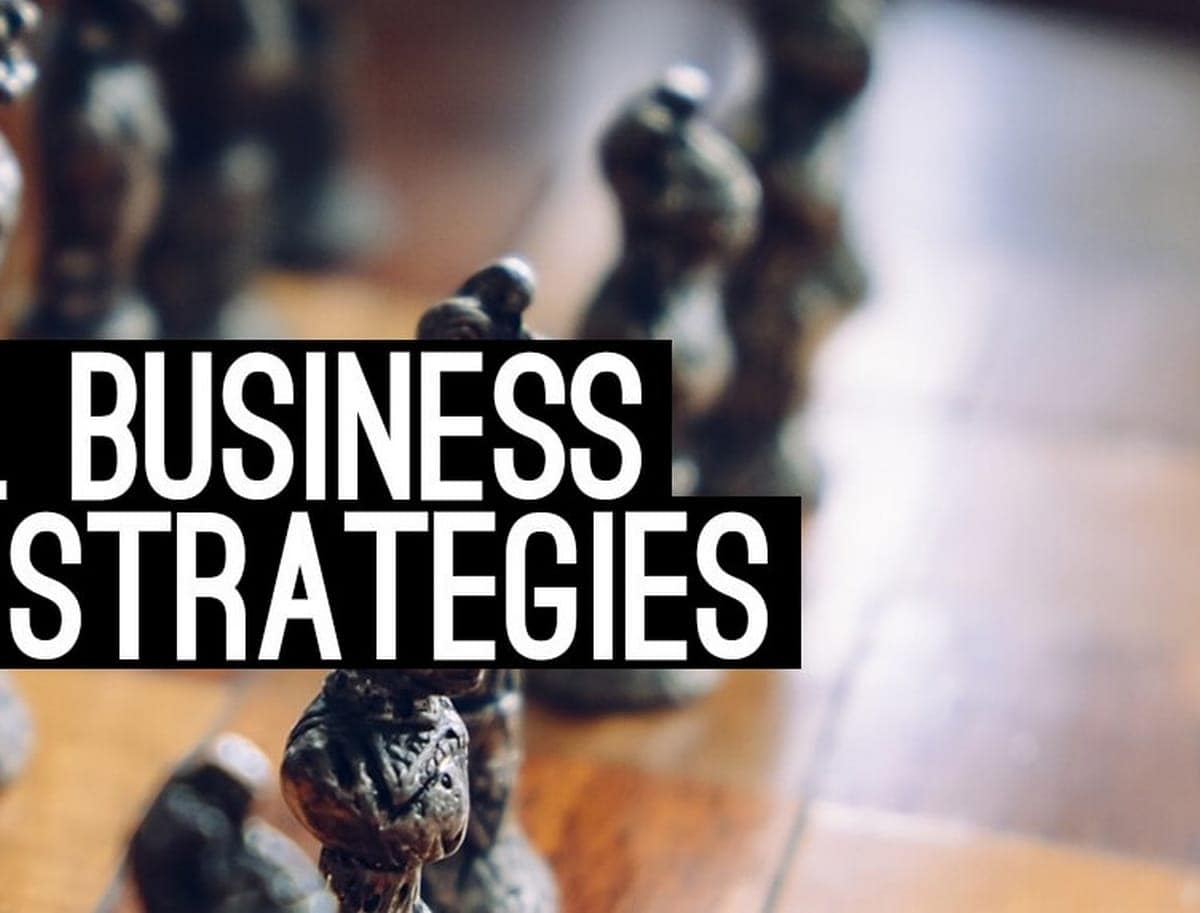 3 Main Types of Business Strategies