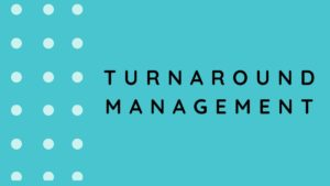 Turnaround Management - 3