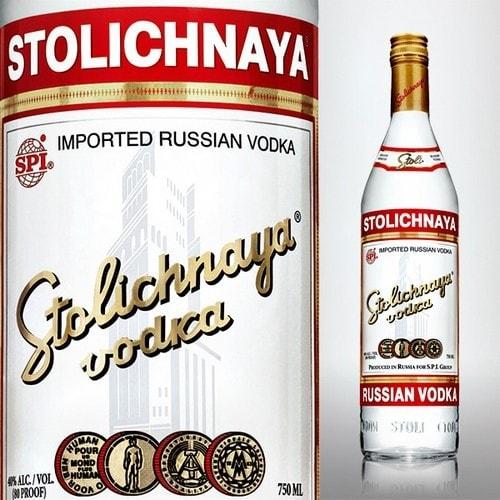 Vodka Stolichnaya - 16