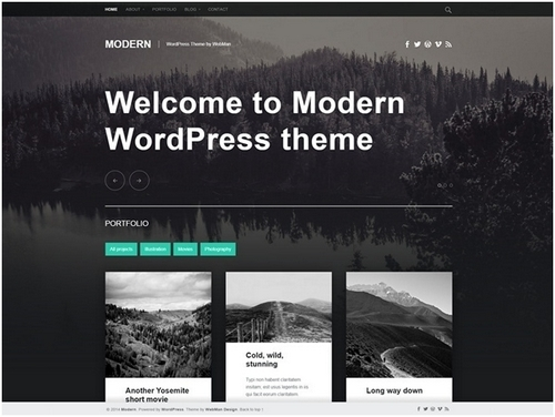 WordPress themes - 2