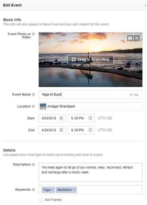 a Facebook Event - 3