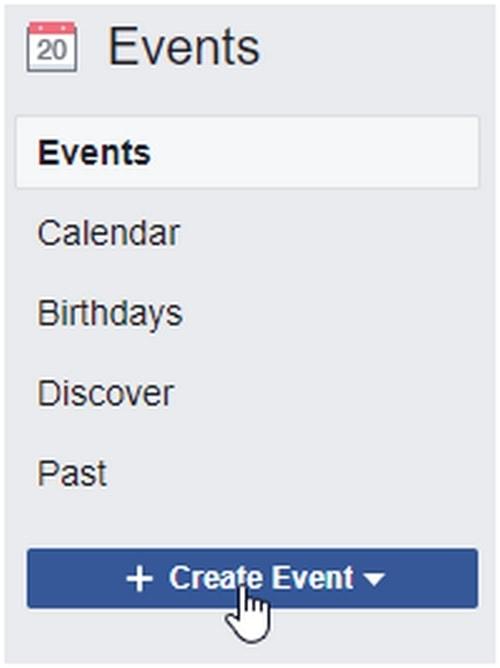 a Facebook Event - 5