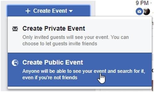 a Facebook Event - 6