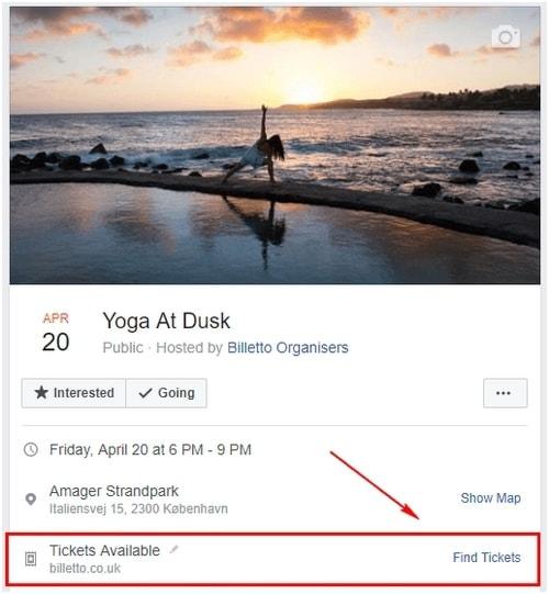 a Facebook Event - 9
