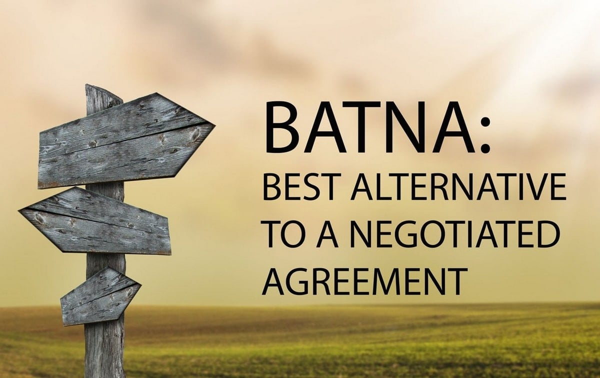 Image result for batna best alternative to a negotiation