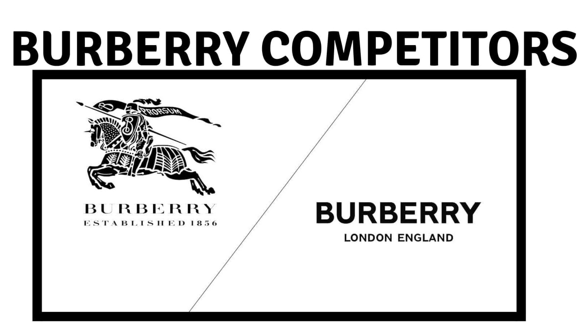 Burberry Competitors