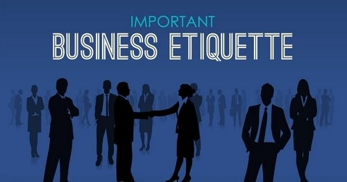 Business Etiquettes - 1