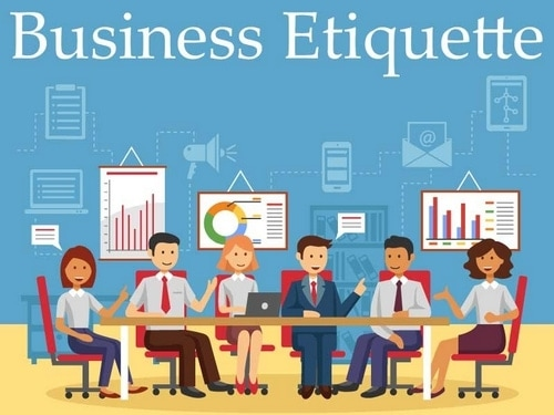 Business Etiquettes - 2