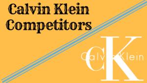 Top 11 Calvin Klein Competitors