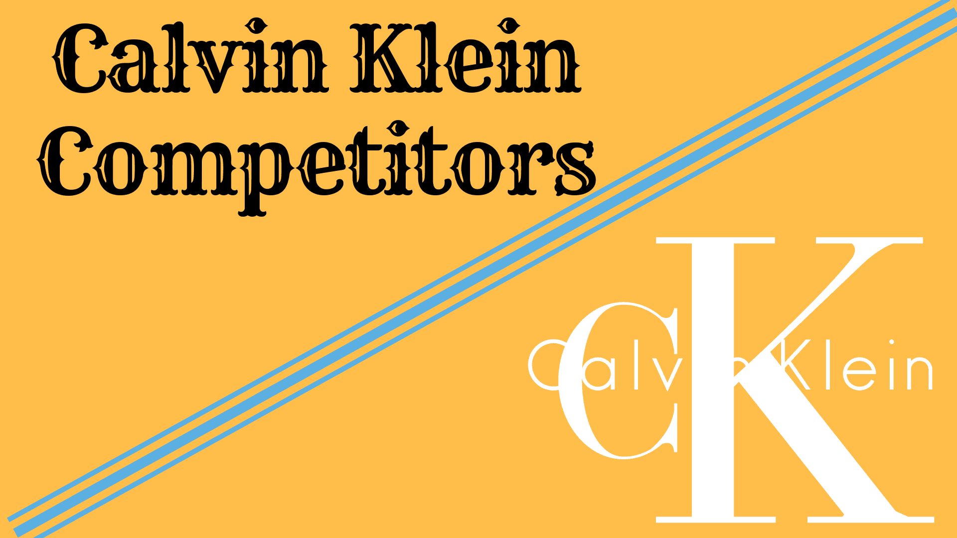 Top 11 Calvin Klein Competitors