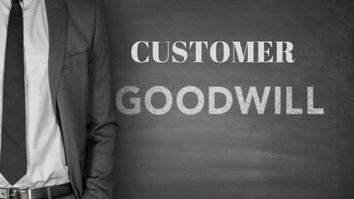 Customer Goodwill - 1