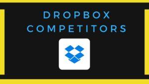 Dropbox Competitors