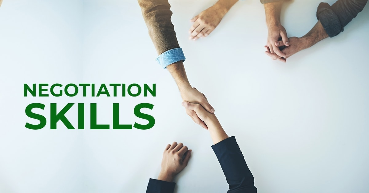 Top 12 Negotiation Skills you should Possess