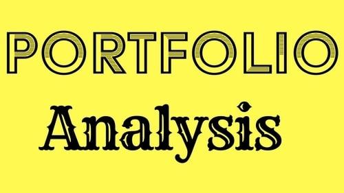 Portfolio Analyze - 2