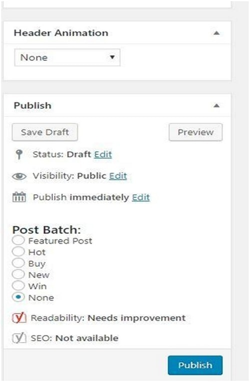 Publish a Blog - 4
