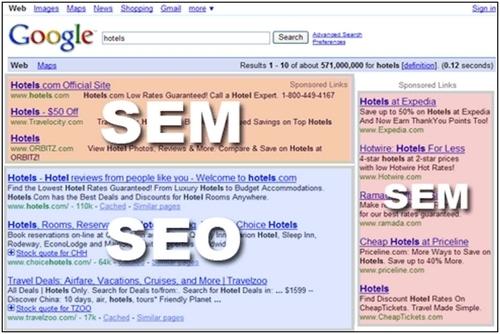 SEO vs SEM - 1