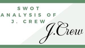 SWOT Analysis of Jcrew - 3