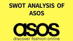 SWOT analysis of ASOS - 3