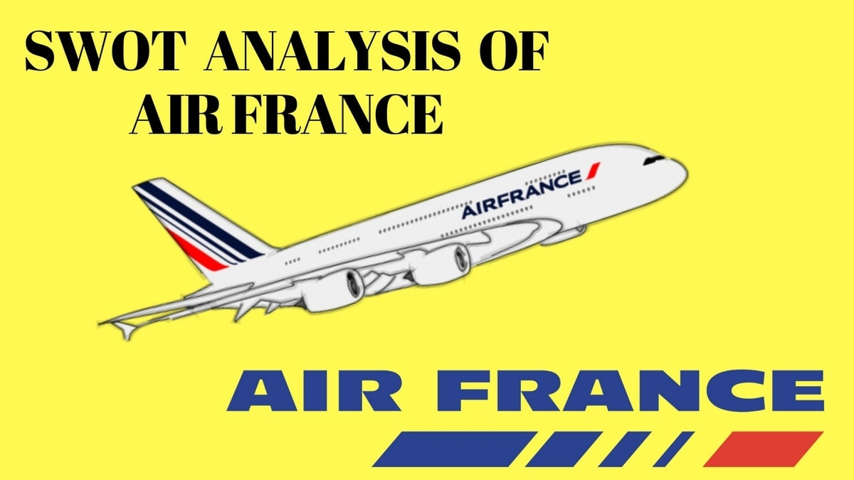 Swot analysis of Air France