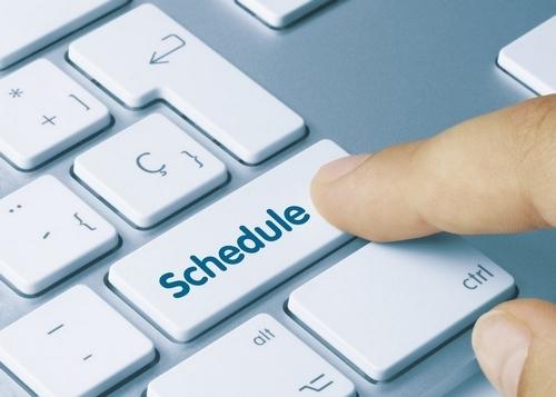 Scheduling a blog - 2