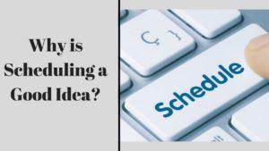 Scheduling a blog - 3