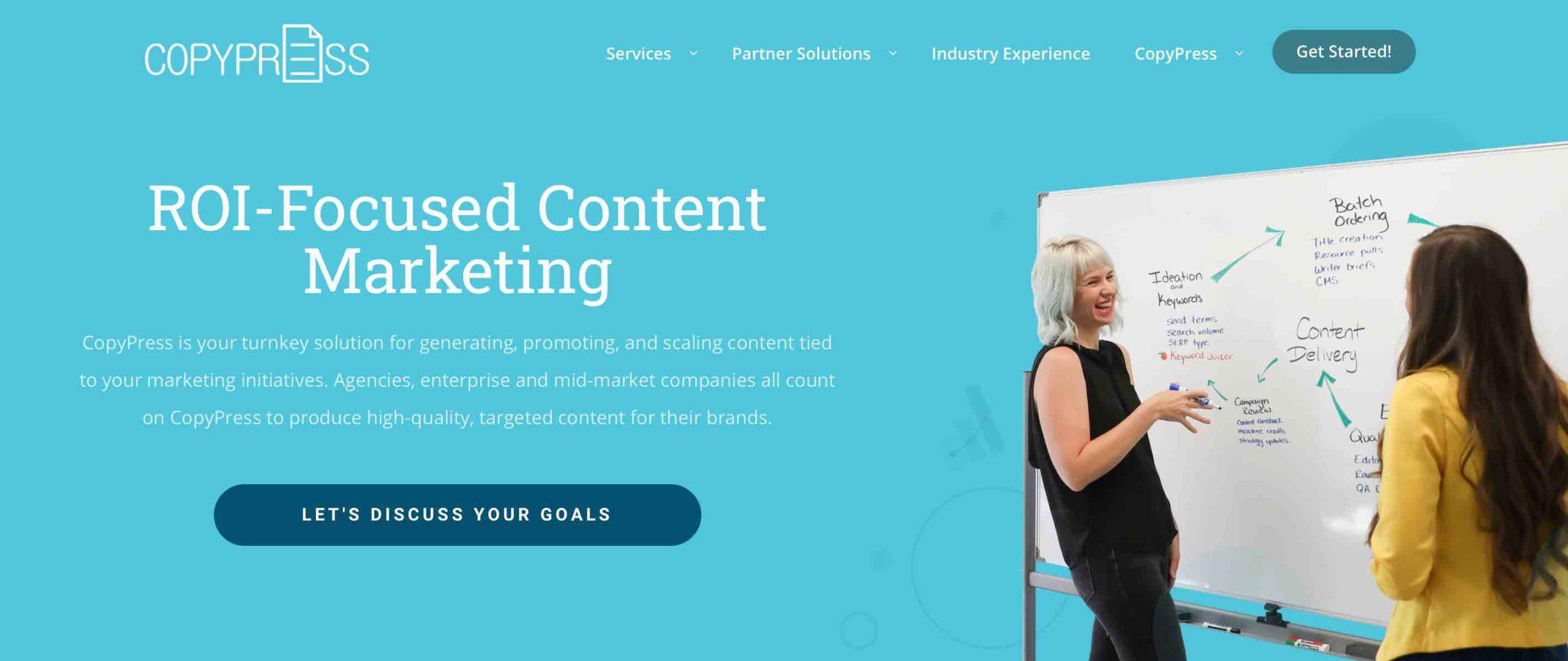 ROI-Focused Content Marketing
