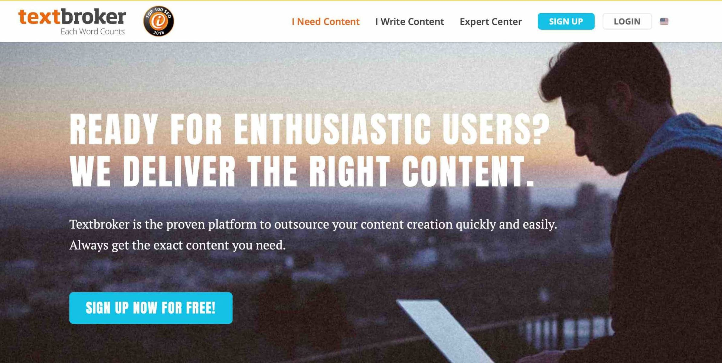 outsource your content creation quickly and easily