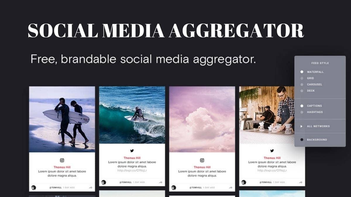 Social Media Aggregator - 3
