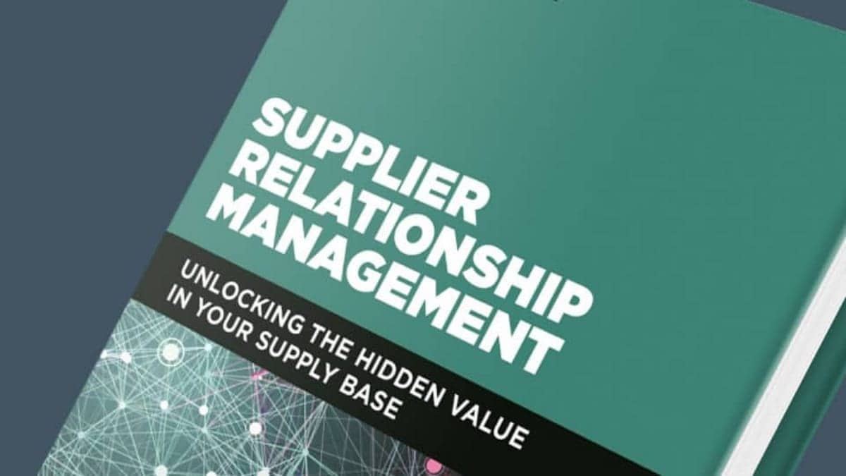 What is Supplier Relationship Management?