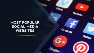 The Most Popular Social Media Sites - 12