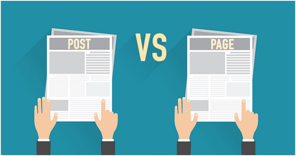Posts vs Pages – Difference between WordPress Posts and Pages