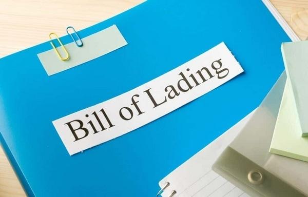 Bill of Lading - 1