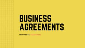 Business Agreements - 2