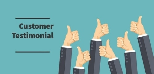 Customer Testimonials - 1