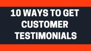 Customer Testimonials - 2