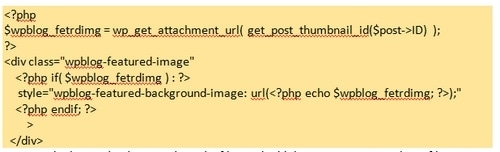 Featured Image URL in WordPress - 2