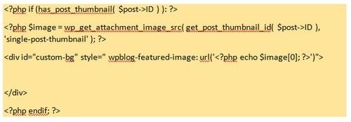 Featured Image URL in WordPress - 3